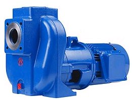 FreFlow self-priming centrifugal pump from JP Pumps (photo: JP Pumps Ltd).