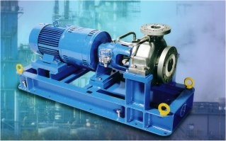 Versatile pump for refinery and petro chem duty for Motor base plate design