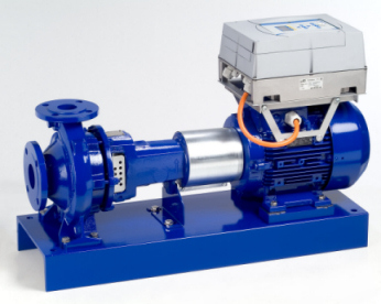 On request, KSB Etanorm PumpDrive pumps can be supplied with the new high-efficiency motors by Italian ITACO/REEL already today. (KSB Aktiengesellschaft, Frankenthal)
