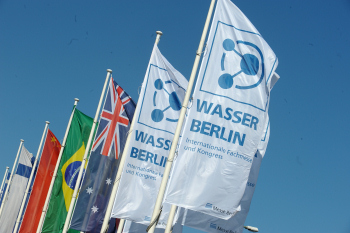 Wasser Berlin International 2013 from 23 to 26 April. (Image: Messe Berlin)