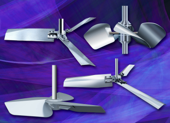 Chemineer impellers (Image: Chemineer)