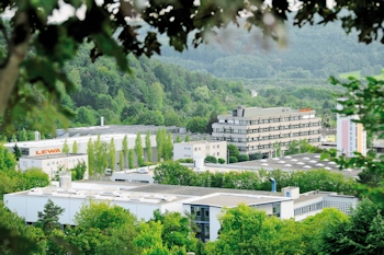 View of Lewa headquarters in <br>Leonberg, Stuttgart Area: In just a few decades, the little family-operated com-pany has become a corporate group with international character. (Image: Lewa)