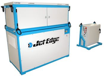 Jet Edge iP36-50 Modular Waterjet Intensifier Pump (Image: Jet Edge)
