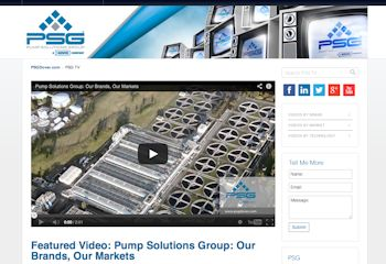 New website (Image: Pump Solutions Group)