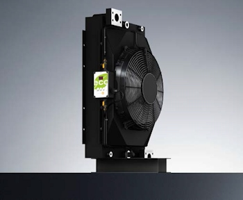 The Eco cooler is an advancement of the OAC standard series (24V)(Image: KTR Kupplungstechnik)
