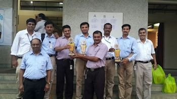 KEPL Team receiving trophy (Image: KEPL)