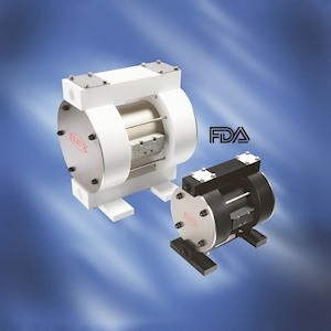 Air-operated diaphragm pumps RFM/RFML conforming to FDA CFR 21 (Image: Flux)