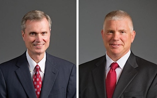 Thomas L. Williams (left) and Lee C. Banks (Images: Parker Hannifin)