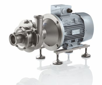 Self-priming FPC pump to transport media with gas content (Image: Fristam Pumpen KG (GmbH & Co.))