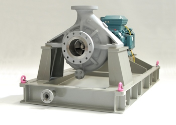 Amarinth API 610 pump with the acoustic enclosure removed (Image: Amarinth)