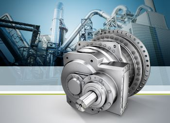 The Planurex 3 planetary gear unit series is available in ten sizes, and has the highest efficiency in its class. This technologically further developed series replaces the previous Planurex 2, initially in the XL range up to 5,450 kNm.(Image: Siemens)