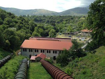 Blick auf das Kraftwerk Castel Madama (Foto: Voith)