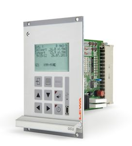 The fully automated OCU odorizing controller continuously compares the target and actual level of the odorant concentration. It is available in 19