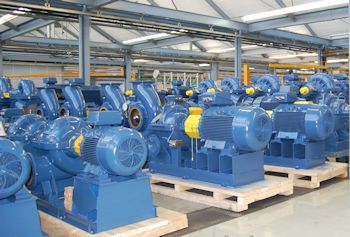 Andritz Ritz is to supply a total of 121 pumps and 18 booster stations for a new drinking water treatment station in Samawa, Iraq. (Image: Andritz AG)