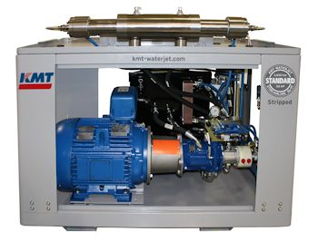 Electric Motor of the hydraulic pump (Image: KMT Waterjet Systems)