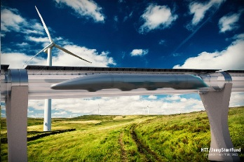 Transportation Tube (Foto: Hyperloop Transportation Technologies)