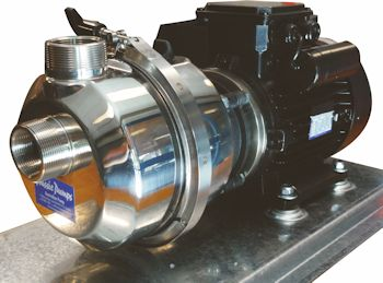 The new I series Smart Pump offers leak free chemical transfer of corrosive liquids. (Image: Pump Industries)