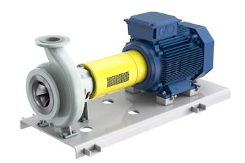 SNS process pump range - efficiency by design (Image: Sulzer)