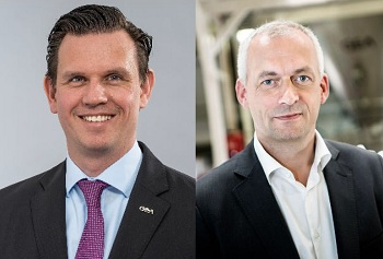 Steffen Bersch, right and Niels Erik Olsen, left (Image: GEA Group Aktiengesellschaft)