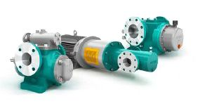 To supplement its portfolio, Netzsch has developed the screw pump series Notos encompassing different designs for a variety of areas of application at high pressure requirements. (Image: Netzsch)