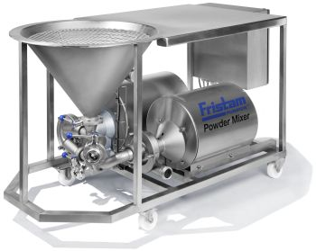 Fristam powder mixers from the PM series are multi-purpose blenders (Image: Fristam Pumpen KG (GmbH & Co.))