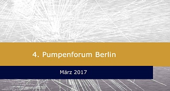 4. Pumpenforum Berlin