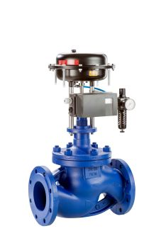 The new BOA-CVE/CVP H is a cast steel control valve primarily used in industry. (Image: KSB Aktiengesellschaft)