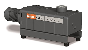 Cobra NX 0450 A screw vacuum pump (Image: Busch Vacuum Pumps and Systems)