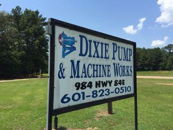 Dixie Pump & Machine Works signage (Image: Tencarva Machinery Company LLC)