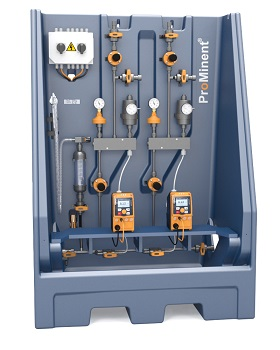 The modular metering systems Dulcodos universal are suitable for the precise metering of chemicals and additives (Image: ProMinent)