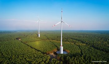 With the Naturstromspeicher a wind farm can be turned into a highly versatile power plant (Image: Voith GmbH)