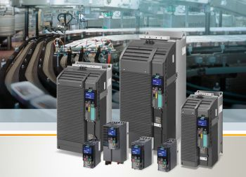 Siemens is extending its Sinamics G120C converter series to include three new frame sizes for higher power ratings. The new frame sizes cover the output range from 22 to 132 kW (Image: Siemens)