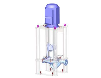 Amarinth API 610 OH3 pump in the process of design for Zadoc (Image: Amarinth)