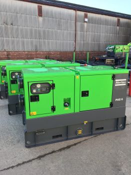 Service Pump Ltd chose Atlas Copco for their major hire fleet investment due to the performance and quality of the near-silent PAS Range of diesel driven automatic dry prime pumps (Image: Atlas Copco)