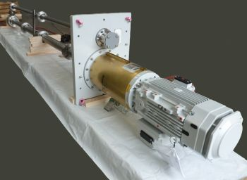 Amarinth API 610 VS4 vertical pump being packaged ready for shipment to Metito (Image: Amarinth)