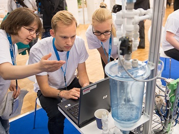 IFAT experience.science.future. brings together the sector's smart and emerging minds. (Image: IFAT)