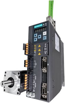 The user-friendly servo drive system Sinamics V90 from Siemens is particularly suited as a solution for highly dynamic applications (Image: Siemens)