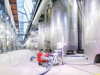 Vogelsang pumps are suitable for all of a winemaker s processes (Image:Vogelsang GmbH & Co. KG)
