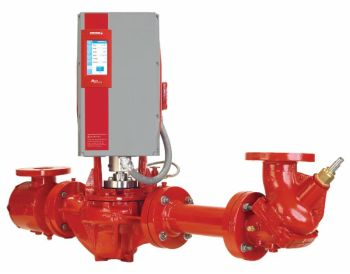 The Design Envelope (DE) 4300 with its patented Pump Control, on-board web service and extended intelligence is one of a wide range of Armstrong Next Evolution pumps (Image: Armstrong Fluid Technology)
