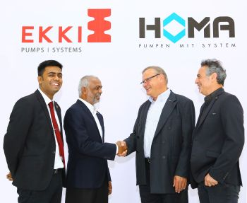 Homa and Ekki Pumps are pleased to announce their International Joint Venture alliance (Image: Ekki Pumps)