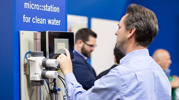 IFAT covers the entire spectrum of water management, from extraction to disposal (Image: Messe München)