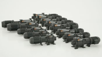 Busch has launched two new series of liquid ring vacuum pumps in a total of 13 sizes (Image: Busch Dienste GmbH)
