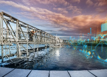 At the IFAT 2018 trade show for environmental technologies, Siemens will be focusing on the digitalization of water and waste water plants. (Image: Siemens)