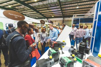 The new co-location at the Gallagher Convention Center opens up synergy effects for all three trade fairs (Image: IFAT Africa)