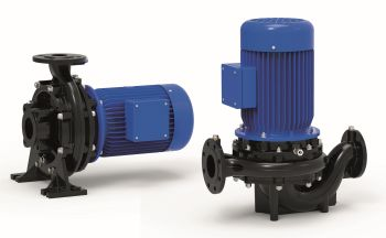 herborner.F and herborner.D: With its new 100 % coated herborner.F and herborner.D pumps, Herborner Pumpentechnik raises the bar for close-coupled and inline pumps (Image: Herborner Pumpentechnik)