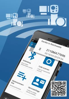 The Auma Assistant App allows fast and easy configuration of Auma actuators from a smartphone or tablet (Image: Auma)