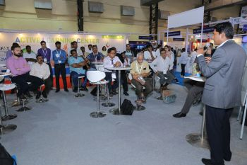 Knowledge transfer: visitors await expert presentations, workshops and roundtables (Image: IFAT India)