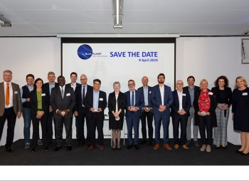 "16 international speakers from the water sector contributed to Blue Planet Berlin Water Dialogues on ""Innovative Solutions for Sustainable Smart Cities""<br>© GWP/L. v. Loeper<br>"