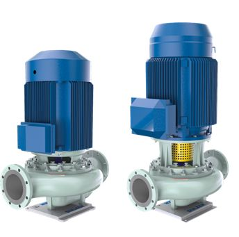 The monoblock design SIL pumps are available with integrated or IEC motors (Image: Sulzer)