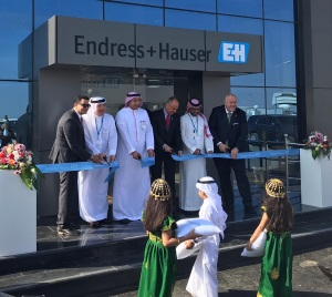 Dedication ceremony in Saudi Arabia: Endress+Hauser inaugurates the new calibration and training center in Jubail. (Image: Endress+Hauser)